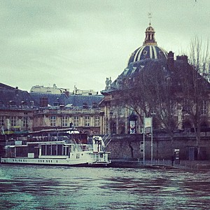 Paris vu de la Seine