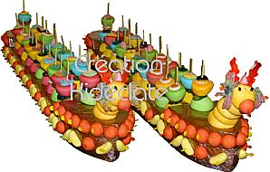 Deux dragon boat bonbons