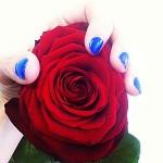 Manucure de Saint-Valentin