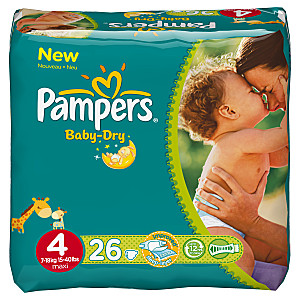BABY DRY Fev13 PAQUET T4x26 4015400542872