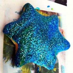 étoile en pate à sel