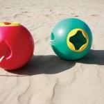 Vacances en famille: tous à la plage!!!! seau et giveaway dedans!