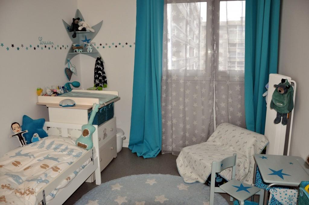 chambre enfant etoiles