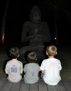 bali avec enfants