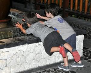 bali avec enfant