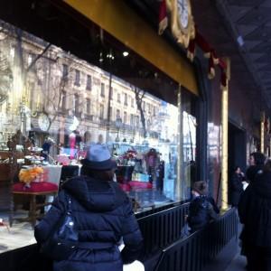 vitrines de noel grands magasins