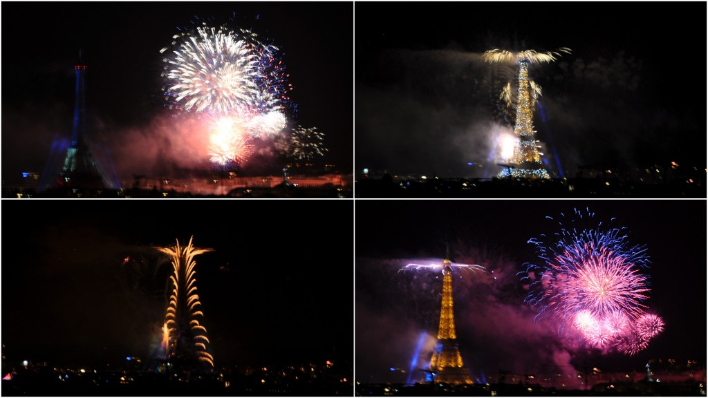 feu d'artifice de Paris