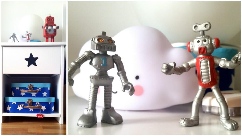 chambre robots de l'espace photo deco