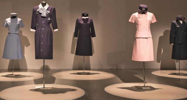 uniformes hôtesse de l'airairfrance