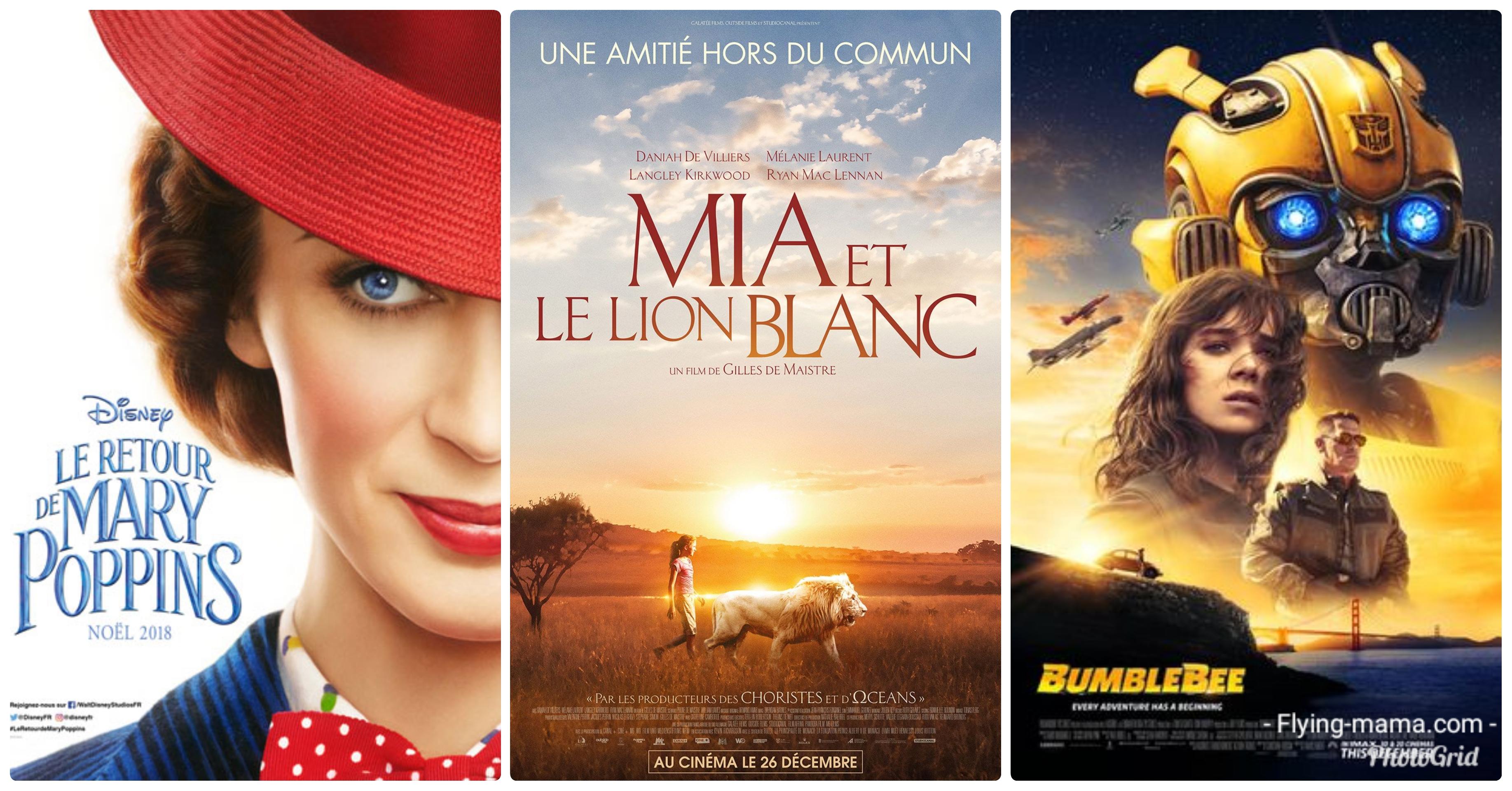 au cinéma pour les vacances de Noël