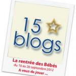 Résultat du jeu de la rentrée des bébés des 15 blogs!