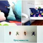 Chambre enfant espace: Le lit du cosmonaute!