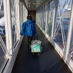 Sa valise pour enfant Lässig pour dans l'avion